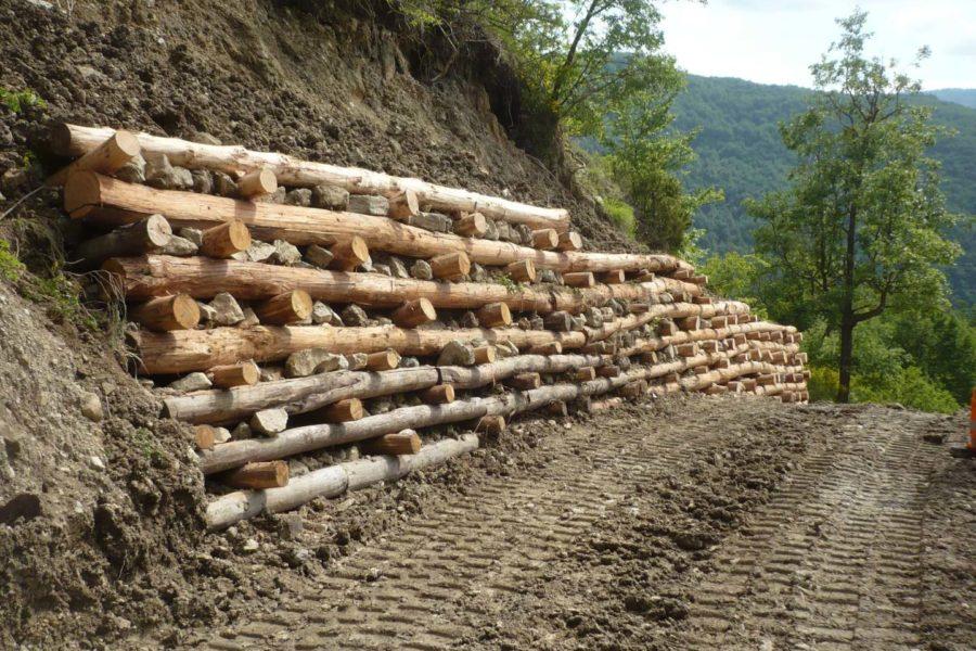 Muro cellulare in legno 4 - Lerta - Impresa edile di costruzioni civili e residenziali