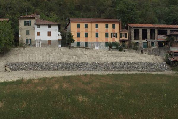 Gabbionata in sassi - Lerta - Impresa edile di costruzioni civili e residenziali