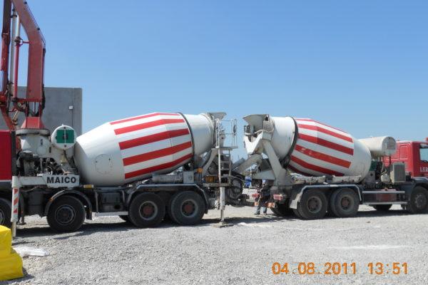 Getto con betonpompa - Lerta - Impresa edile di costruzioni civili e residenziali